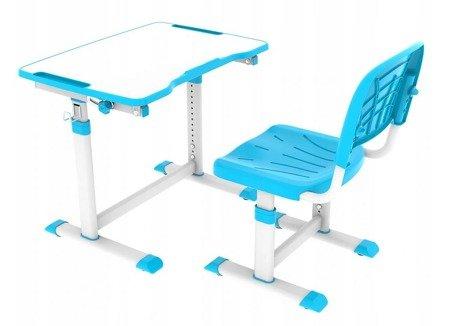 Biurkosa Biurko i krzesełko dziecięce Blue 11976317