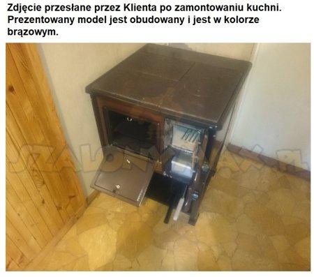 DOSTAWA GRATIS! 25969044 Kuchnia, angielka 5,6kW MINI, Jawor - bez płaszcza wodnego (obudowana)