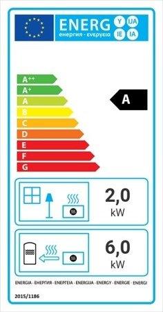 DOSTAWA GRATIS! 30041195 Wkład kominkowy 8kW Maja BS z płaszczem wodnym, wężownicą (lewa boczna szyba bez szprosa) - spełnia anty-smogowy EkoProjekt