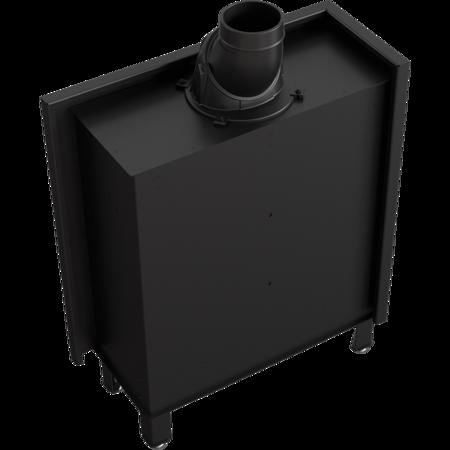 DOSTAWA GRATIS! 30072662 Wkład kominkowy 10kW Lucy Slim BS (lewa boczna szyba bez szprosa) - spełnia anty-smogowy EkoProjekt