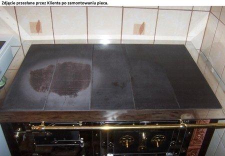 DOSTAWA GRATIS! 92238167 Kuchnia kaflowa, angielka 11kW Dominika, bez płaszcza wodnego (kolor: brąz)
