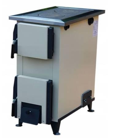 Drewaga Piecokuchnia 10kW kuchnia z płaszczem wodnym (kolor: kość słoniowa) - spełnia anty-smogowy EkoProjekt 15676488