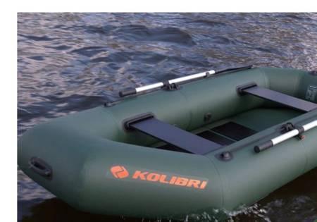 KOLAG Ponton turystyczno-wędkarski, 2-3 osób (dopuszczalne obciążenie: 250 kg, wymiary: 280x130 cm) 22678156
