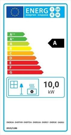 KONS Wkład kominkowy 10kW MBM BS (lewa boczna szyba bez szprosa) - spełnia anty-smogowy EkoProjekt 30046775
