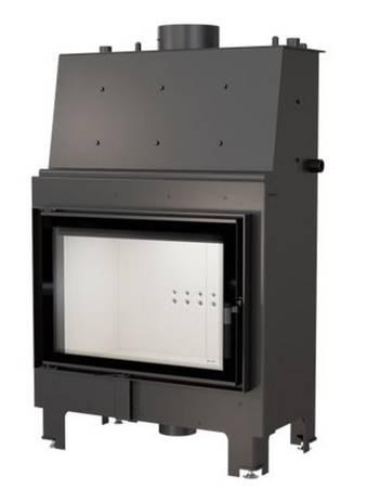 KONS Wkład kominkowy 15kW MBO PW z płaszczem wodnym, wężownicą (szyba prosta) - spełnia anty-smogowy EkoProjekt 30066815