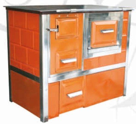 Kuchnia, angielka 9,5kW Monika z wężownicą (kolor: brązowy) 92276507
