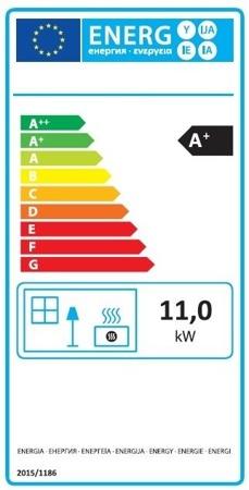 POMA Piec wolnostojący MBS 2-11kW Hit (kolor: beżowy) - spełnia anty-smogowy EkoProjekt 88872833