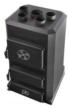 Piec nadmuchowy 25kW, blacha kotłowa 6 i 10mm (paliwo: drewno, miał węglowy, węgiel brunatny, węgiel kamienny, pellet) 95472711