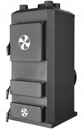 Piec nadmuchowy 32kW, blacha kotłowa 6 i 10mm (paliwo: drewno, miał węglowy, węgiel brunatny, węgiel kamienny, pellet) 95464408