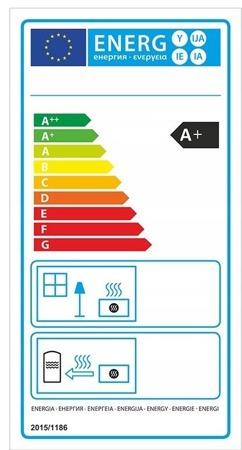Piec wolnostojący 8kW (kolor: biały) - spełnia anty-smogowy EkoProjekt 99672764