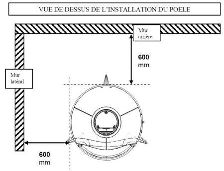 Piec wolnostojący Invicta 10kW Tipi (kolor: emalia antracyt) - spełnia anty-smogowy EkoProjekt 86876402