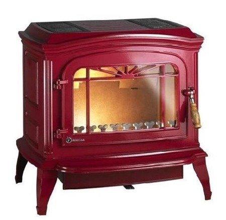 Piec wolnostojący Invicta 9kW Bradford (kolor: emalia czerwona) - spełnia anty-smogowy EkoProjekt 86876397