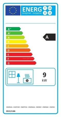 Piec wolnostojący Invicta 9kW Kazan GA (kolor: emalia antracyt) - spełnia anty-smogowy EkoProjekt 86876404