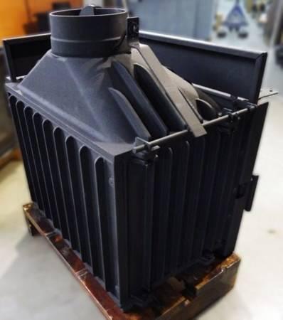 TOPSTOVE Wkład kominkowy 12kW (lewa boczna szyba) - spełnia anty-smogowy EkoProjekt 58477280