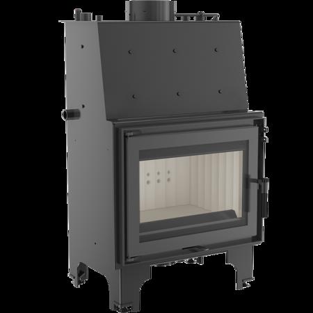 Wkład kominkowy 9kW AQUARIO Z10 PW z płaszczem wodnym, wężownicą (szyba prosta) - spełnia anty-smogowy EkoProjekt 30046804